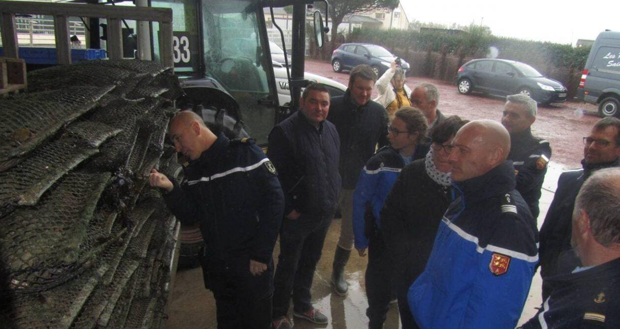 Surveillance gendarmerie Parcs à huîtres