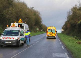 Un motard de la Gendarmerie blessé dans une collision