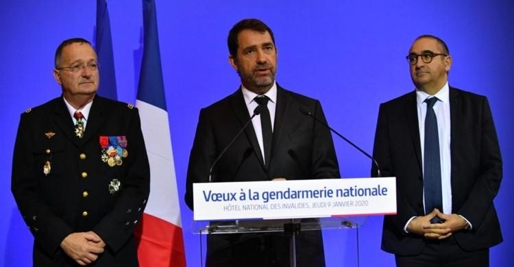 Vœux du ministre de l'Intérieur à la gendarmerie nationale